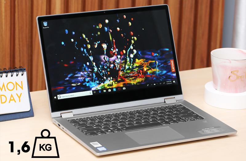 Laptop Lenovo ideapad C340 cực kì mỏng nhẹ. tiện lợi cho bạn đem máy theo bất cứ đâu.