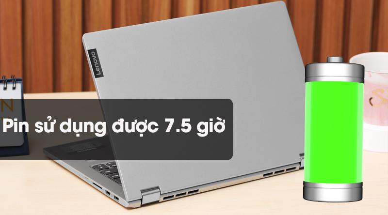 Laptop Lenovo IdeaPad C340 có thời lượng pin lên đến 7,5 giừo