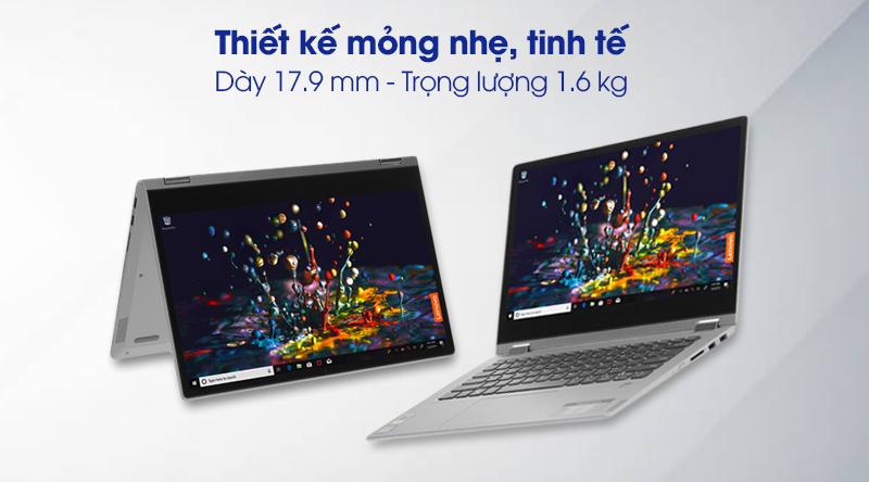 Laptop Lenovo Ideapad C340 14IWL i3 (81N4003SVN) - thiết kế