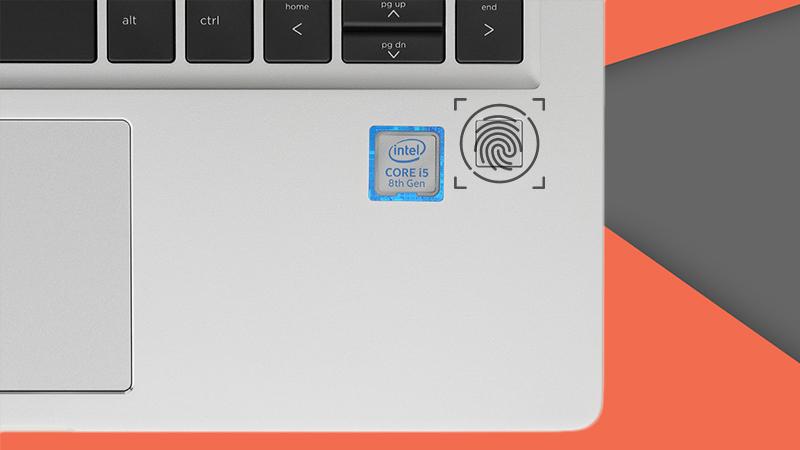 Laptop HP Probook 430 trang bị hệ thống bảo mật vân tay