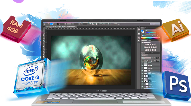 Cấu hình laptop ASUS VivoBook S412