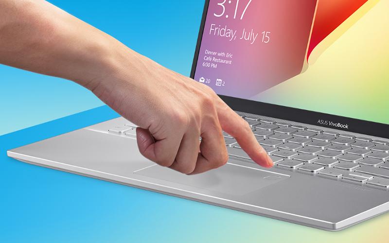 Cảm biến vân tay trên laptop Asus Vivobook A412FA