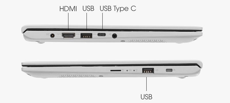 Asus VivoBook đã trang bị cho laptop của mình cổng USB Type-C