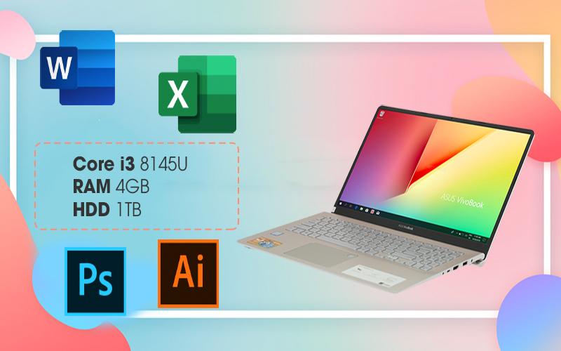 ASUS VivoBook S15 S530FA-BQ185T đáp ứng tốt mọi nhu cầu văn phòng