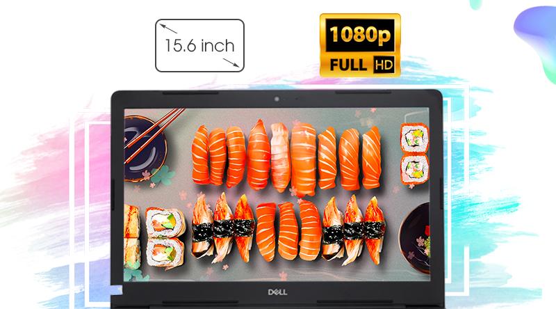Dell Vostro 3580 màn hình rộng, hiển thị sắc nét