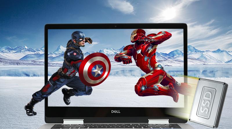 Laptop Dell Inspiron 5482 i7 8565U khởi động mọi thứ nhanh chóng