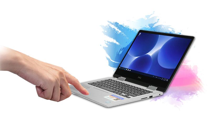 Laptop Dell Inspiron 5482 i7 bảo mật bằng vân tay thông minh