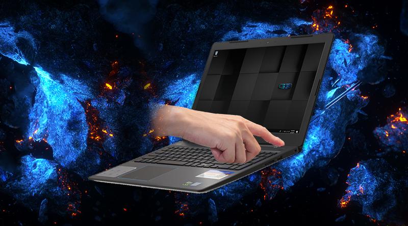 Dell Inspiron 3579 bảo mật vân tay