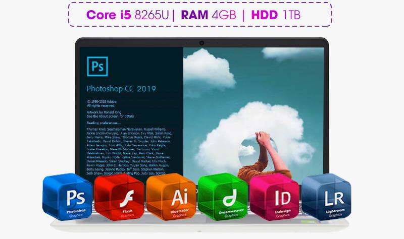 Laptop Dell Inspiron 5584 được trang bị card đồ họa rời NVIDIA Geforce MX130, 2GB