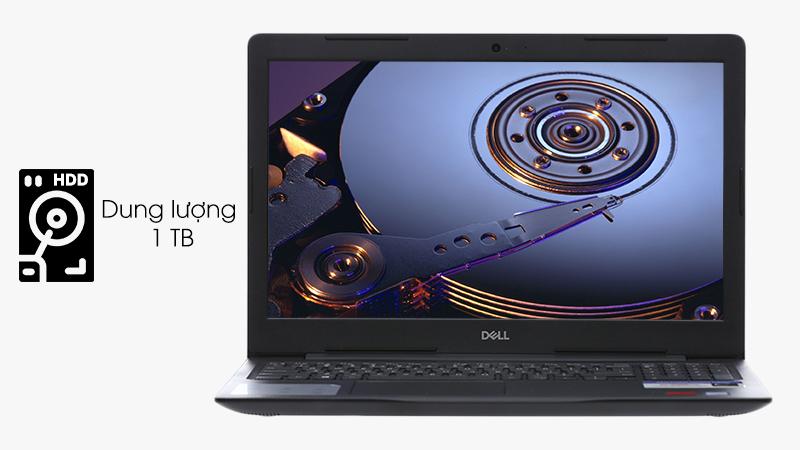 Laptop Dell Inspiron 3850 sử dụng ổ cứng HDD 1 TB