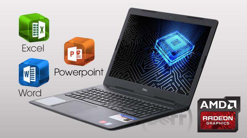 Laptop Dell Inspiron 3850 xử lí đồ hoạ rất tốt, chơi game cấu hình cao như DOTA 2, PES 2018,...