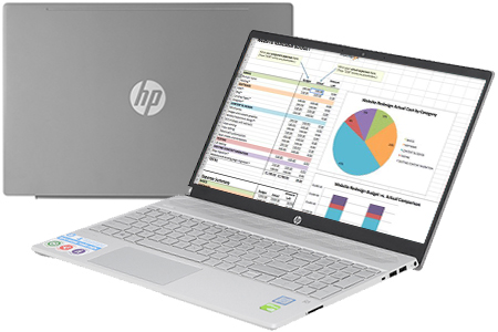 Laptop HP Pavilion 15 cs2057TX i5 8265U/4GB/1TB/2GB MX130/Win10 (6YZ20PA)