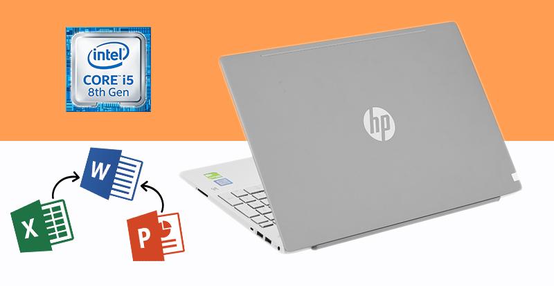 Laptop HP Pavilion 15 cs2057TX có cầu hình mạnh mẽ