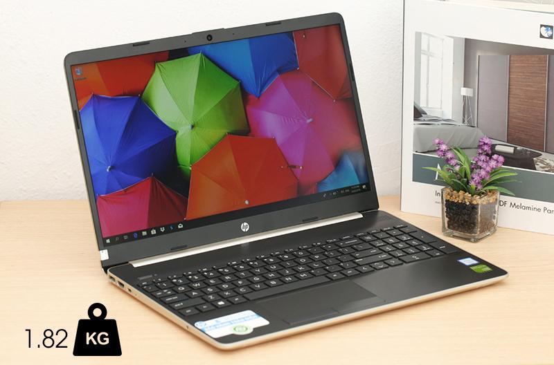 Laptop HP 15s du0040TX được hoàn thiện tỉ mỉ, tinh tế
