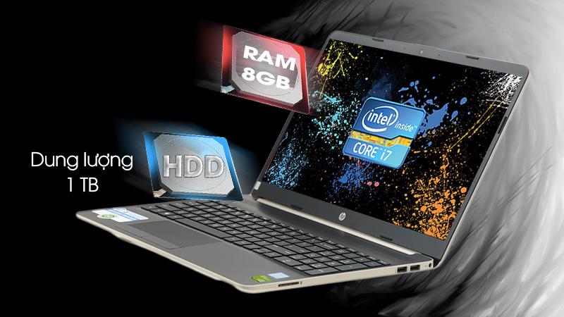 Laptop HP 15s du0040TX xử lý tốt hầu hết ứng dụng hiện hành