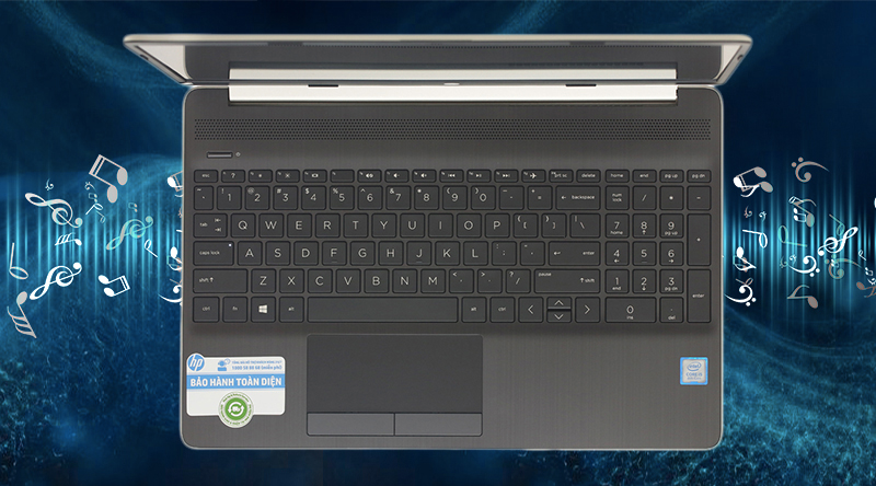 Laptop HP 15s du0063TU (6ZF63PA) cho bạn âm thanh to rõ, sống động