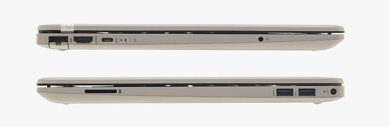 Laptop HP 15s du0063TU (6ZF63PA) được trang bị cổng USB 3.1, USB Type C