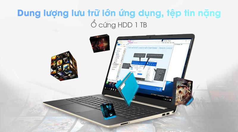 Laptop HP 15s du0063TU (6ZF63PA) vận hành bởi Chip Intel Core i5 thế hệ 8