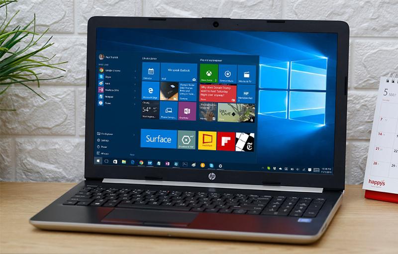 Laptop HP 15 da0359TU N4417 (6KD00PA) giúp sửa lỗi và tăng tính bảo mật cho máy, hạn chế virus xâm nhập