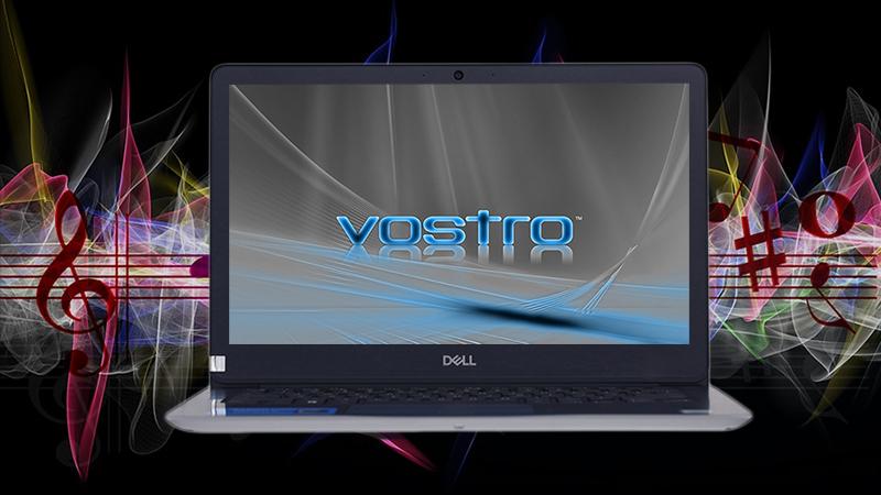 Laptop Dell Vostro 13 5370 cho phép bạn tự động điều chỉnh âm thanh