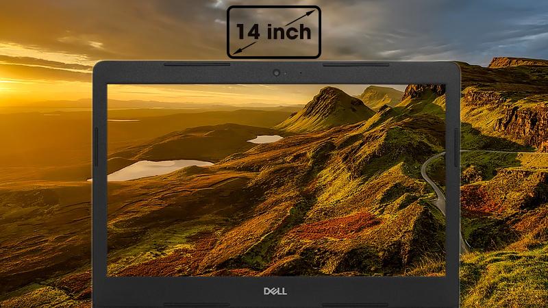 Laptop Dell Vostro 3480 có màn hình 14 inch