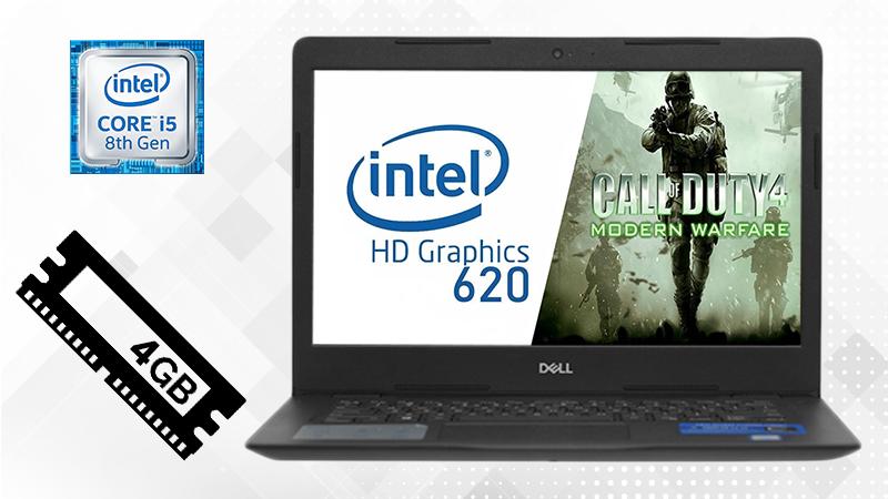 Laptop Dell Vostro 3480 i5 giúp bạn xử lý tốt từ các việc đơn giản đến các công việc mang tính chất đòi hỏi cao