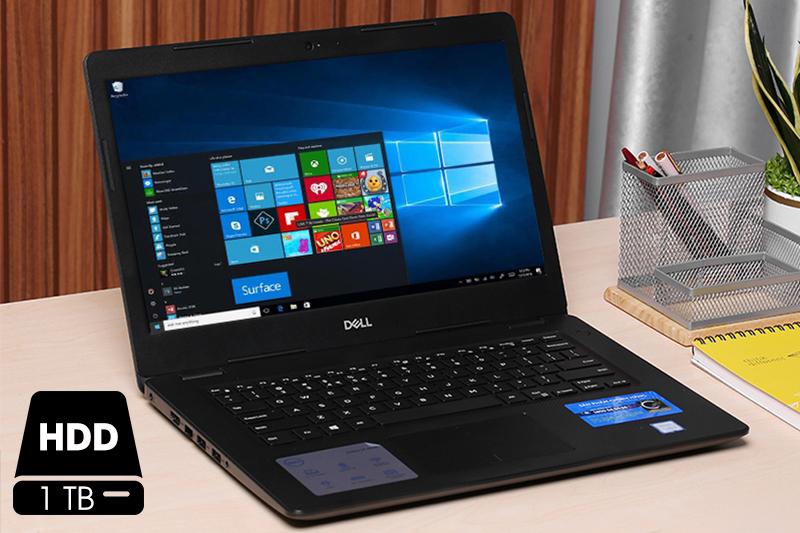 Laptop Dell Vostro 3480 dung lượng khủng có thể lưu trữ được rất nhiều dữ liệu