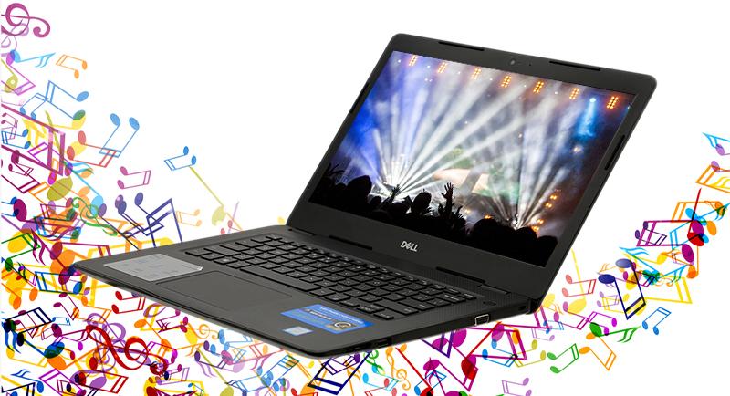 Laptop Dell Vostro 3480 có âm thanh to rõ