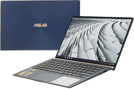 Laptop Asus ZenBook 14 UX433FN i5 8250U/8GB/512GB/MX150/Win10 (A6125T)