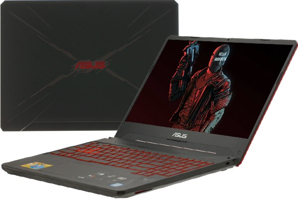 Laptop Asus Gaming FX505GD i5 8300H/8GB/1TB/ GTX1050/Win10 (BQ088T)