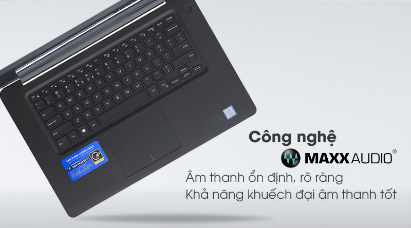 Âm thanh Dell Vostro 5581 to rõ