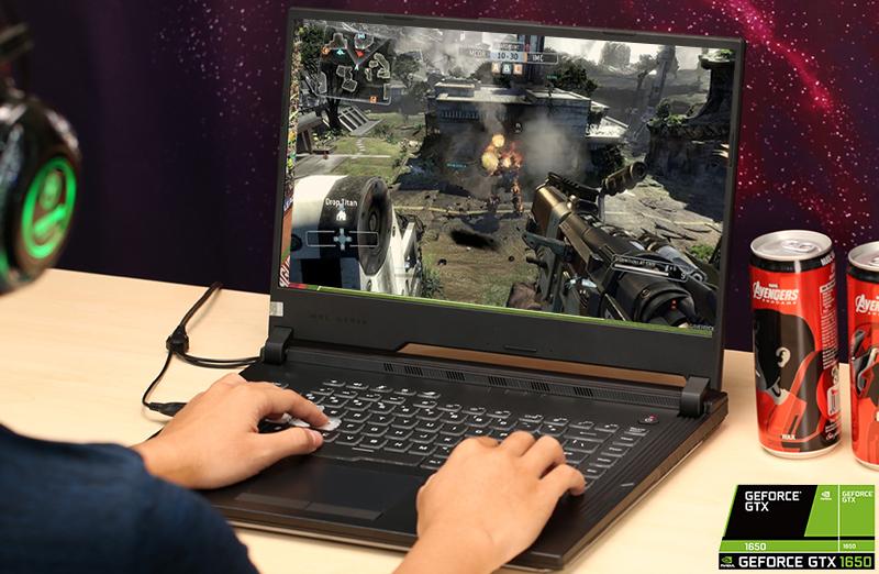 Laptop ASUS ROG Strix G  có thể chiến được game khủng
