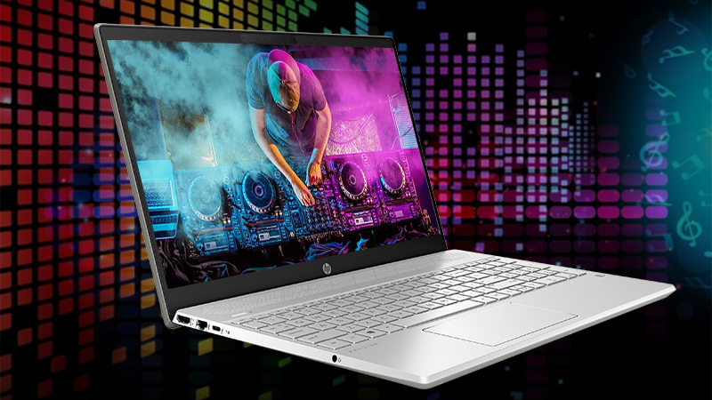 Laptop HP Pavilion 15 cs2031TU cho phép bạn nghe âm thanh HD trên laptop một cách hoàn hảo