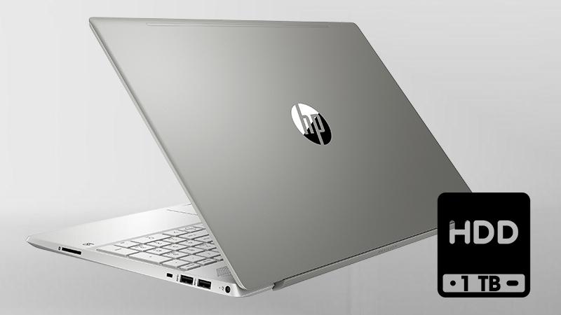Laptop HP Pavilion 15 cs2031TU  lưu trữ mọi thứ bạn cần và đáp ứng được nhu cầu của bạn.