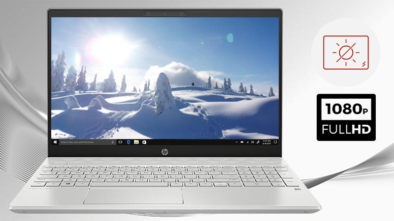 Laptop HP Pavilion 15 cs2056TX kích thước 15.6 inch cùng độ phân giải Full HD