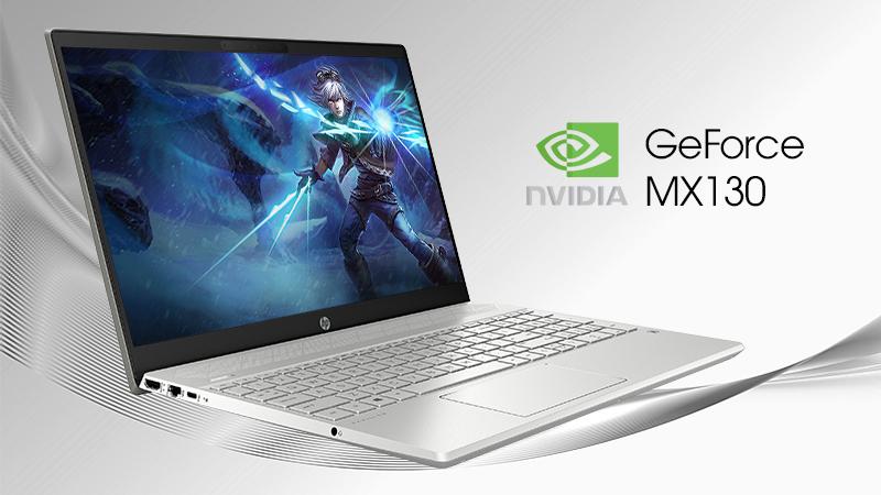 Laptop HP Pavilion 15 cs2056TX được tiếp thêm sức mạnh đến từ card đồ họa rời