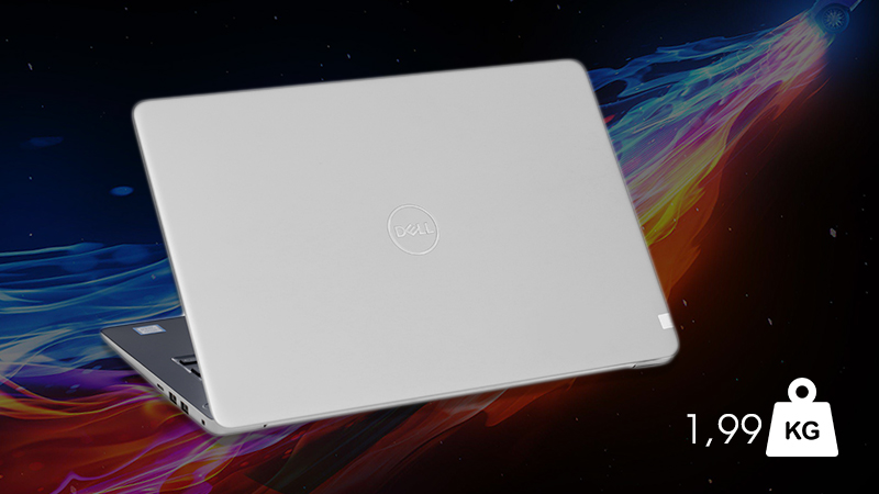 Laptop Dell Inspiron 3480 N4I5107W được thiết kế đơn giản