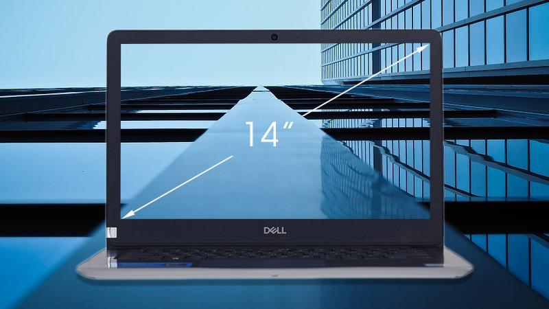 Laptop Dell Inspiron 3480 N4I5107W được đánh giá khá tốt nhờ công nghệ LED Backlit