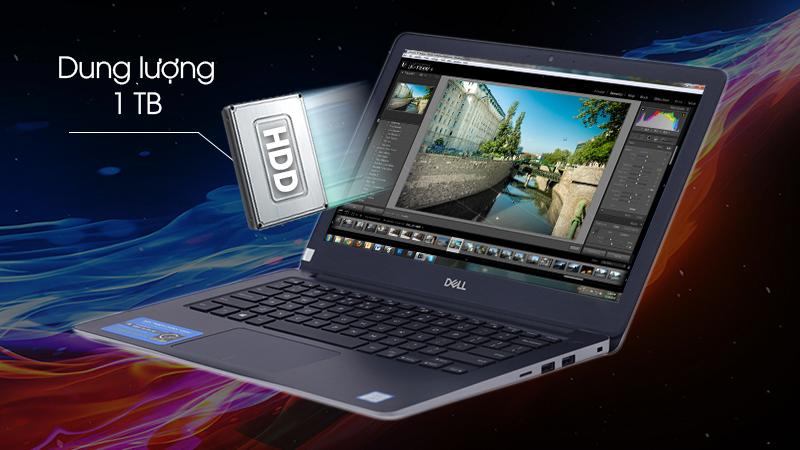 Laptop Dell Inspiron 3480 N4I5107W cho tốc độ xử lý dữ liệu nhanh chóng