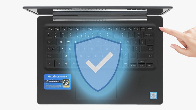 Bảo mật vân tay an toàn và tiện lợi với Laptop Dell Vostro 5481 V4I5229W