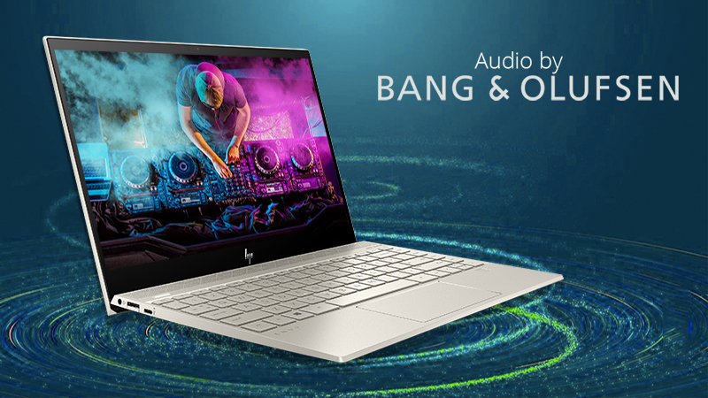 Laptop HP Envy 13 aq0025TU (6ZF33PA) có công nghệ âm thanh B&O
