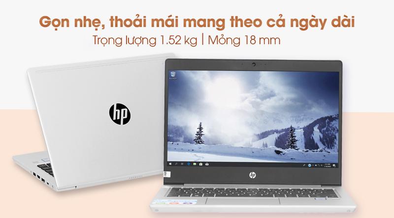 Laptop HP Probook 430 G6 (5YM98PA) thiết kế gọn nhẹ