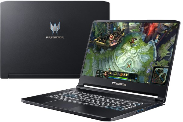 Laptop Acer Predator Triton 500 PT515 51 7398 i7 8750H/16GB/256GB/8GB RTX2070/Win10 (NH.Q4XSV.003)