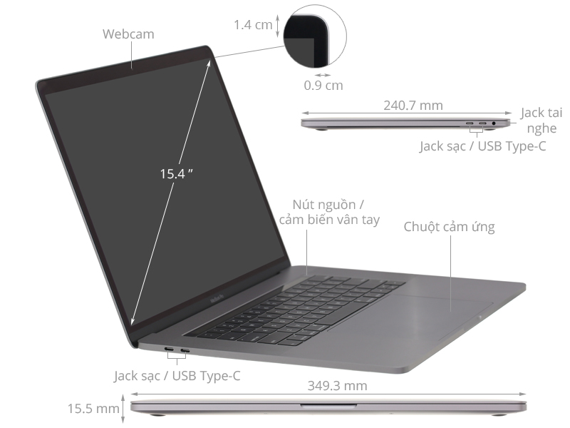 Thông số kỹ thuật 205924