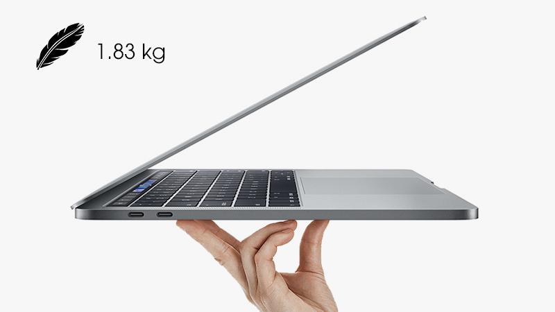 MacBook Pro mỏng nhẹ đẳng cấp