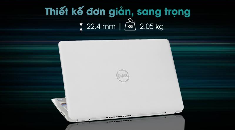 Dell Inspiron 5584 mang vẻ thanh lịch