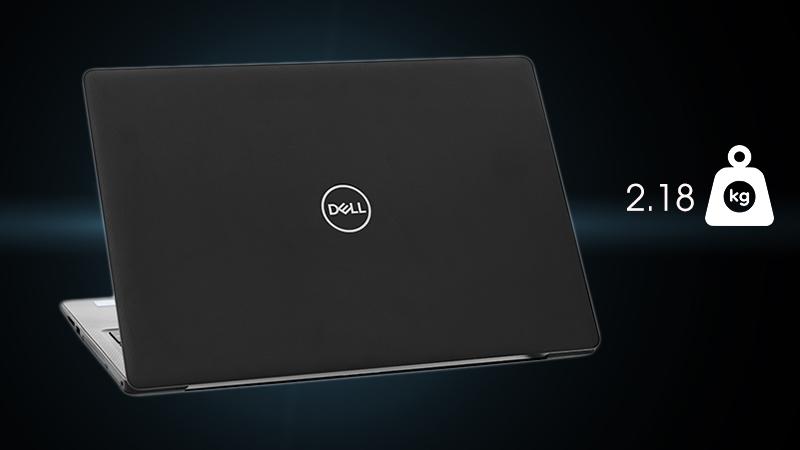 Laptop Dell Inspiron 3581 đem lại cảm giác hài hòa, chắc chắn