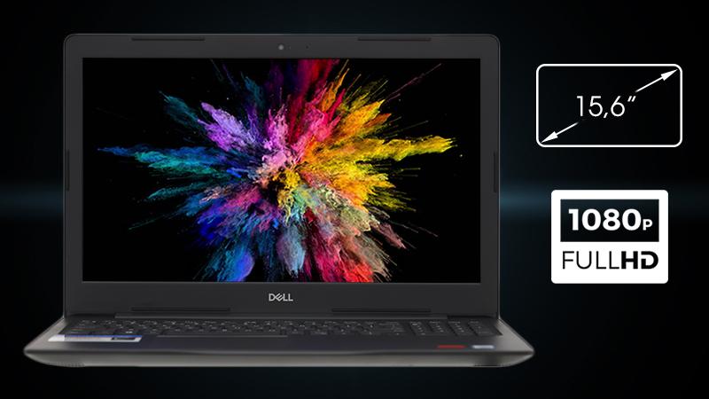 Laptop Dell Inspiron 3581 đem đến cho bạn không gian giải trí rộng, chất lượng hình ảnh rõ ràng