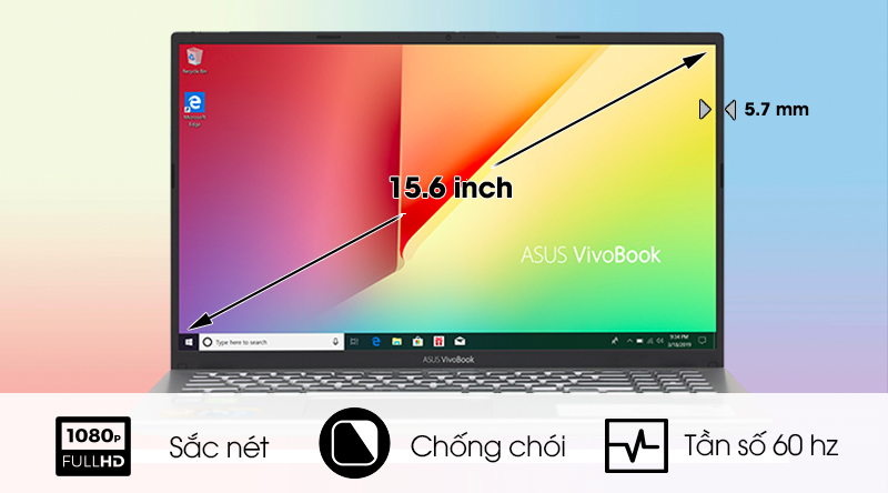 Màn hình Asus Vivobook A512F