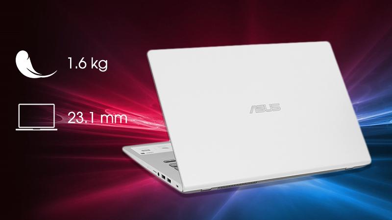 Laptop Asus Vivobook X409F được thiết kế hướng đến người dùng hiện đại